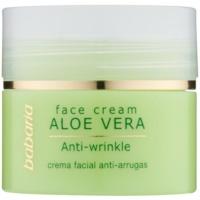 crema facial con aloe vera