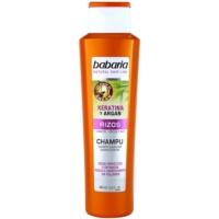 šampon za valovite lase s keratinom in arganom