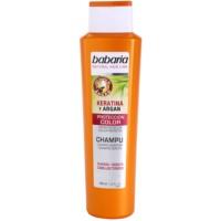 шампунь для захисту кольору волосся з кератином та аргановою олійкою