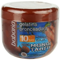 gel con color con coco SPF 10