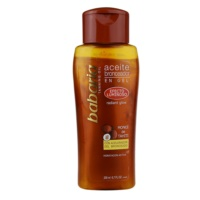 Shimmering Oil To Support The Tan