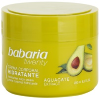 creme corporal com abacate