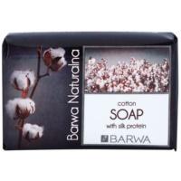 Barwa Natural Cotton tuhé mydlo s regeneračným účinkom