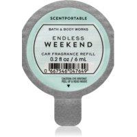 Bath & Body Works Endless Weekend aроматизатор за автомобил 6 мл. резервен пълнител