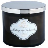 Bath & Body Works White Barn Mahogany Teakwood Mirisna svijeća 411 g