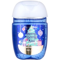 Bath & Body Works PocketBac Merry Berry Kiss Antibacterial Hand Gel