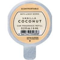 Bath & Body Works Vanilla Coconut illat autóba 6 ml