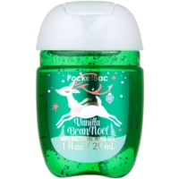 Bath & Body Works PocketBac Vanilla Bean Noel Antibacterial Hand Gel