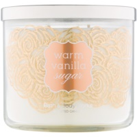 Bath & Body Works Warm Vanilla Sugar Geurkaars 411 gr
