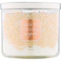 Bath & Body Works Warm Vanilla Sugar illatos gyertya  411 g