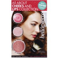 BelláPierre All About Cheeks and Lips Collection Coral Collection coffret cosmétique II.