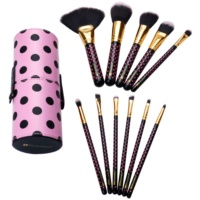 BHcosmetics Pink-A-Dot set perii machiaj