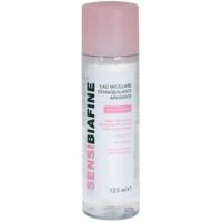 água micelar para limpeza suave para pele e olhos sensíveis