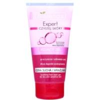 gel de limpeza para pele seca e sensível