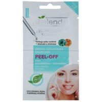 slupovací gelová maska pro stažení pórů a matný vzhled pleti