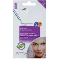 gel exfoliant delicat pentru piele normala si uscata