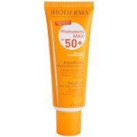 Bioderma Photoderm Max schützendes, mattes Fluid für das Gesicht SPF 50+
