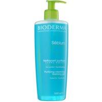 Bioderma Sébium Gel Moussant gel de limpeza para pele mista e oleosa