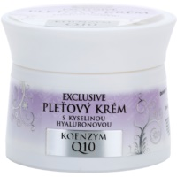 Bione Cosmetics Exclusive Q10 pleťový krém s kyselinou hyalurónovou