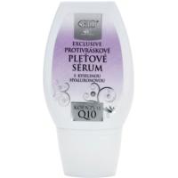 Bione Cosmetics Exclusive Q10 sérum antirrugas com ácido hialurônico com ácido hialurónico