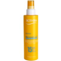 spray solar hidratante SPF 15