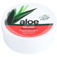 Maske für die Haare mit Aloe Vera