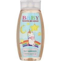 Bohemia Gifts & Cosmetics Baby test és hajsampon zöldtea kivonattal