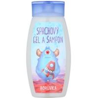 Bohemia Gifts & Cosmetics Creatures gel de douche et shampoing 2 en 1