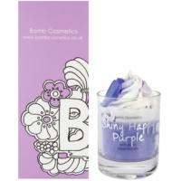 Bomb Cosmetics Piped Candle Shiny Happy Purple illatos gyertya