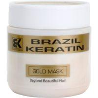 keratinová regenerační maska pro poškozené vlasy