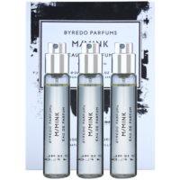 eau de parfum unisex 3 x 12 ml (3x utántöltő szórófejjel)