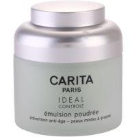 Emulsion mit Pudereffekt für fettige und Mischhaut