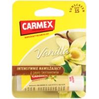 Carmex Vanilla hidratáló ajakbalzsam ceruzában SPF 15