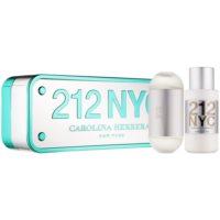 Carolina Herrera 212 NYC lote de regalo VII. eau de toilette 100 ml + leche corporal 200 ml