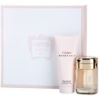 Cartier Baiser Volé darčeková sada VI. parfémovaná voda 50 ml + telové mlieko 100 ml