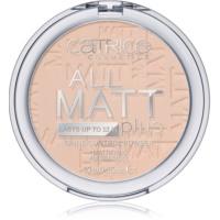 Catrice All Matt Plus pudra matuire