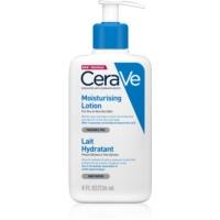 CeraVe Moisturizers leche facial y corporal hidratante para pieles secas y muy secas