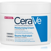 CeraVe Moisturizers hydratačný krém na tvár a telo pre suchú až veľmi suchú pokožku
