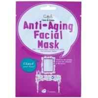 plátenná maska s protivráskovým účinkom