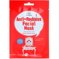 Cloth Facial Mask For Sensitive Skin Prone To Redness