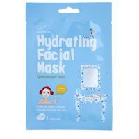 plátenná maska s vysoko hydratačným a vyživujúcim účinkom