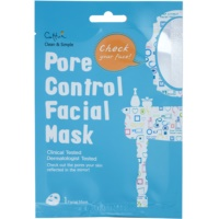 Cloth Facial Mask For Pore Minimizer And Matte  Looking Skin