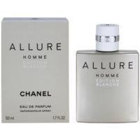Chanel Allure Homme Édition Blanche parfemska voda za muškarce 50 ml