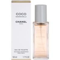 Chanel Coco Mademoiselle Eau de Toilette für Damen 50 ml Ersatzfüllung