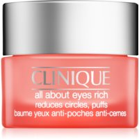 Clinique All About Eyes Rich creme de olhos hidratante contra olheiras e inchaços