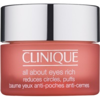 Clinique All About Eyes™ Rich crema hidratante para contorno de ojos antibolsas y antiojeras