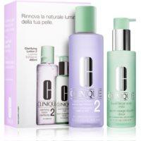 Clinique 3 Steps козметичен пакет  II. (за суха и смесена кожа ) за жени