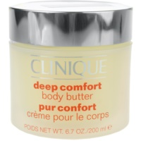 Clinique Hair and Body Care manteiga corporal  para pele muito seca