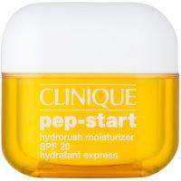 Clinique Pep-Start hidratáló és védő krém SPF 20