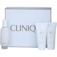 Clinique Aromatics In White подаръчен комплект I.  парфюмна вода 50 ml + мляко за тяло 75 ml + душ гел 75 ml